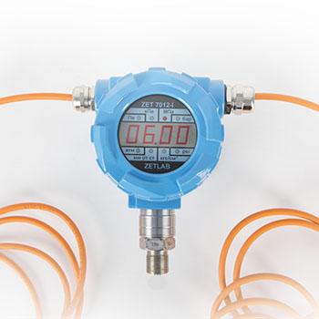 Датчик давления ZET 7X12 с индикатором и открытой мембраной (2)