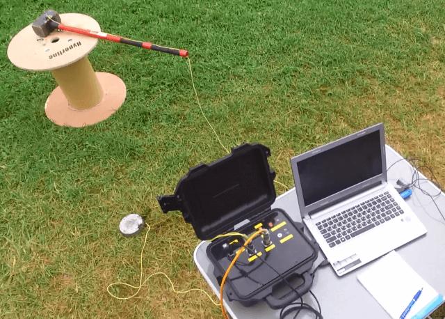 Автономный регистратор. Регистрация сигналов с геофонов цифровой многоканальной сейсмокосы
