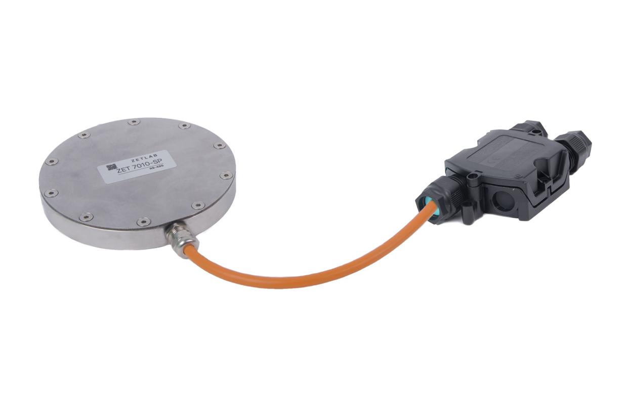 Датчик давления грунта ZET 7010 SP с коммутационной коробкой