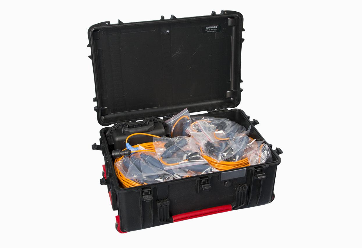 Комплект для сейсморазведки