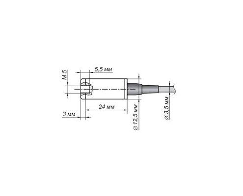 BC 201 Accelerometer - dimensions