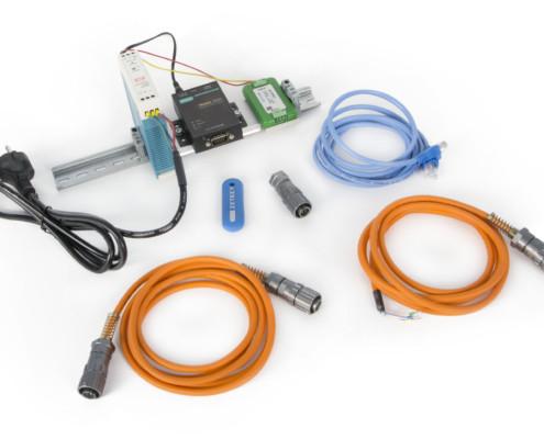 Базовая комплектация ZET 7076 (MOXA) при поставке с цифровыми датчиками в промышленном исполнении