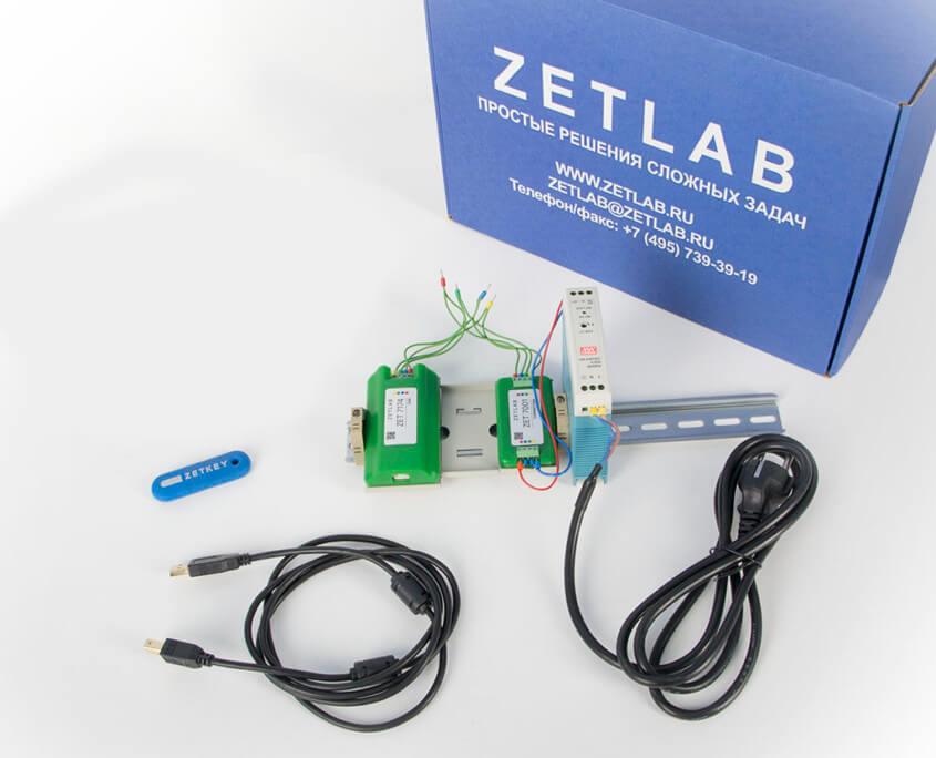 Базовая комплектация цифрового датчика ZET 7174