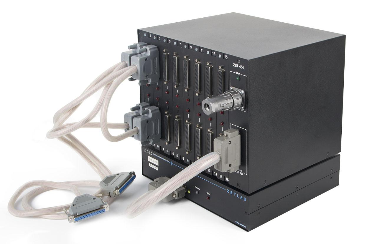 ZET 452 устройство контроля параметров электрических цепей с модулем расширения ZET 454