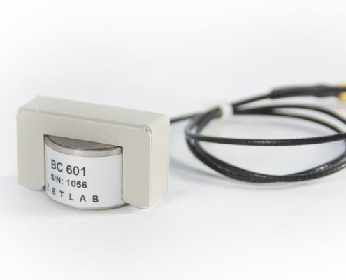 ZET 601 Acoustic Emission sensor - mounting