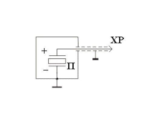 Compact accelerometer AP1019 (AP19) - circuit diagram