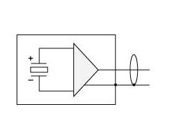 BC111 Acceleration Meter - circuit diagram