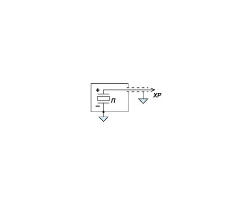 Электрическая схема датчика давления PS 02-01