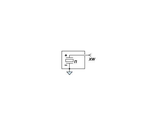 Электрическая схема датчика давления PS 02
