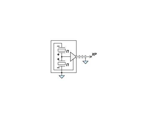 Электрическая схема датчика давления PS 2001-50-01