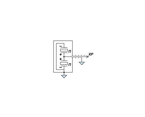 Электрическая схема датчика пульсации давления PS 01-01