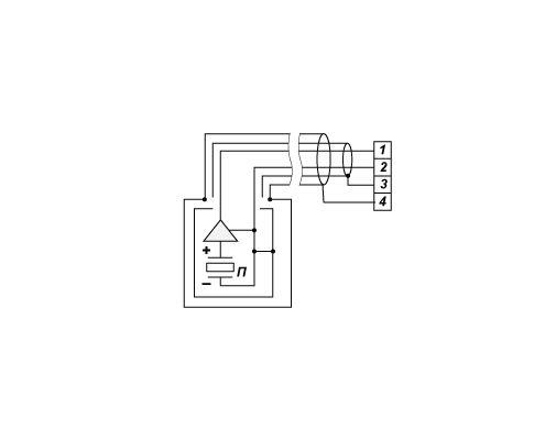 E`lektricheskaya-shema-promyishlennogo-akselerometra-AR35-s-metallorukavom