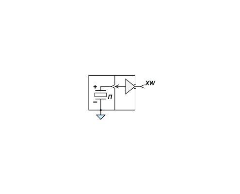 Электрическая схема ударного молотка AU03
