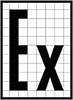 знак взрывозащищенное исполнение Ex-100