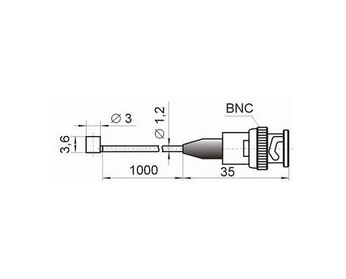 Compact accelerometer (shock sensor) AP2019 - dimensions