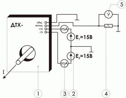 Схема включения датчика ПИТ-___-УА-П10