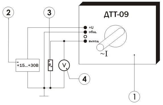 измерительного преобразователя переменного тока ПИТ-___-Т-4/20-Б40
