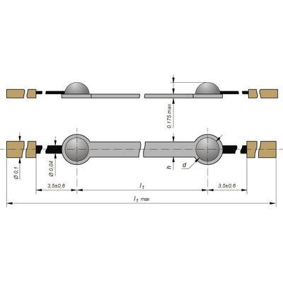 Тензорезистор КТД7А
