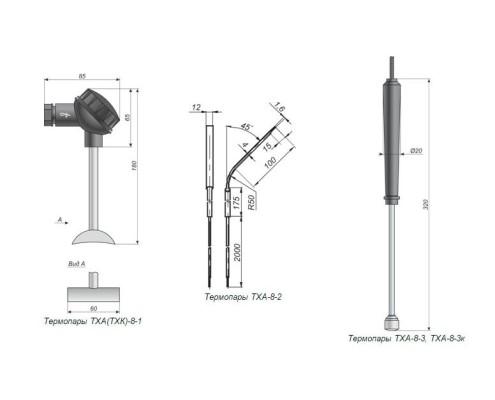 Термопара ТХА-8, ТХК-8