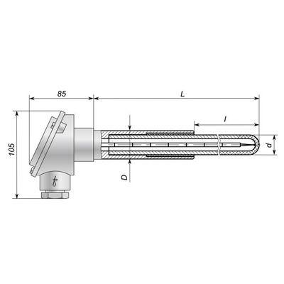 Термопары ТТПП-53-3, ТТПР-53-3
