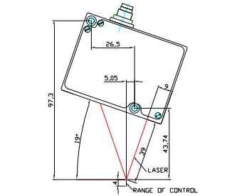 Установка датчиков для зеркальных поверхностей