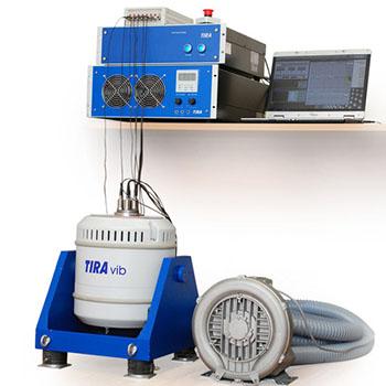 Комплекс для аттестации вибростендов на базе устройств ZETLAB