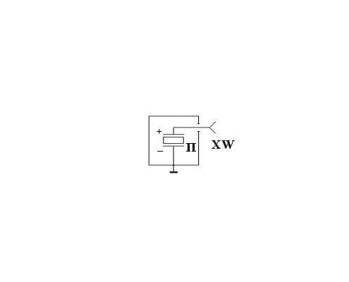 Электрическая схема AU03 (без усилителя)