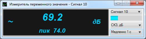 Вольтметр переменного тока ZETLAB
