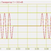 Радио-импульсный сигнал