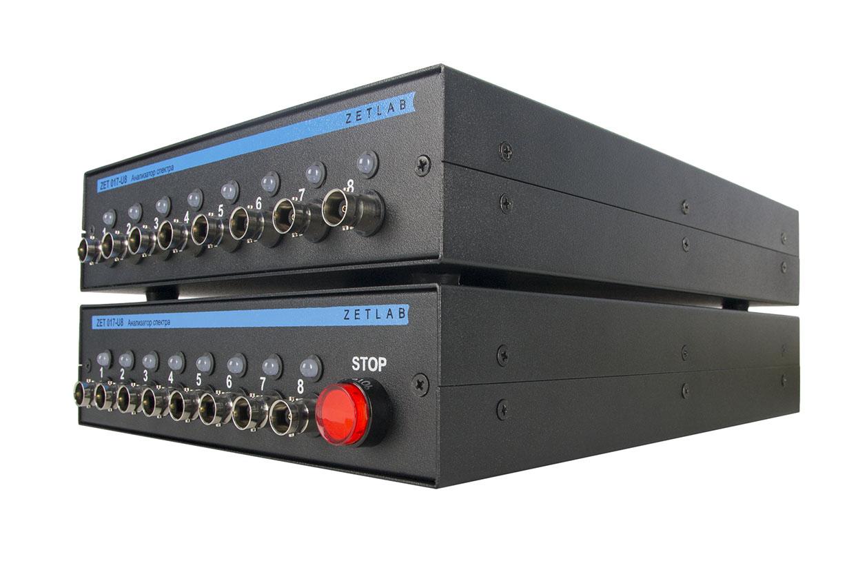 ZET 017-U16 Vibration controller - front panel