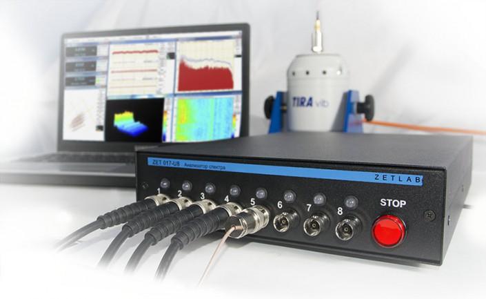 Система управления вибростендами ZET 017-U