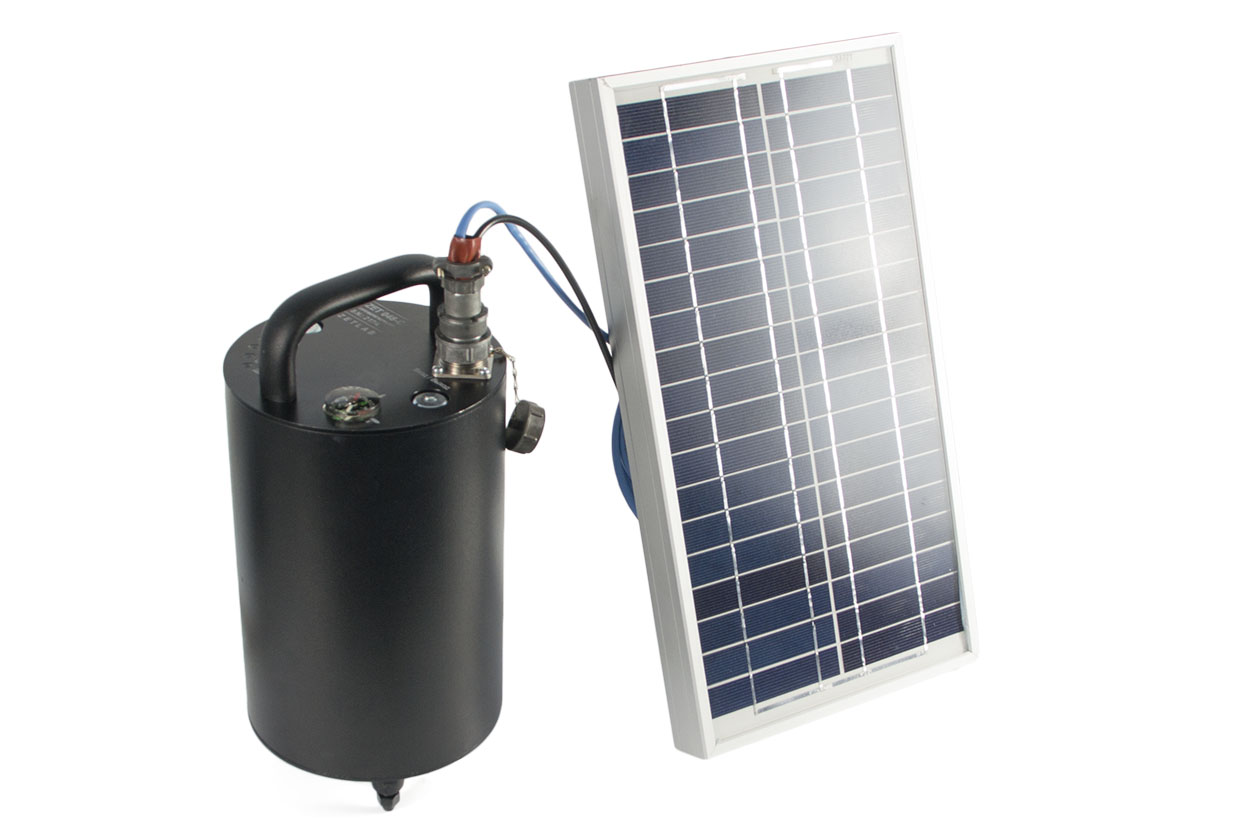 Регистратор сейсмический цифровой ZET 048-C в комплекте с солнечной батареей ТСМ-10А
