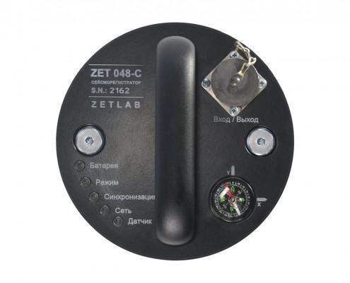 Сейсмостанция ZET 048-C - сейсморегистратор в скважинном исполнении