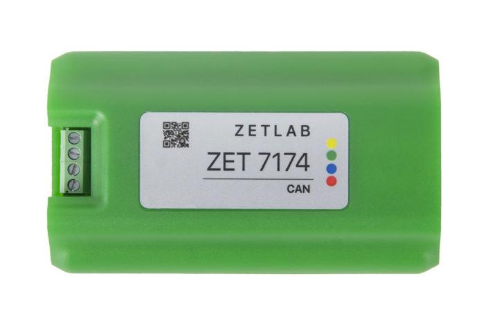 таблица адресов преобразователя ZET 7174 USB CAN