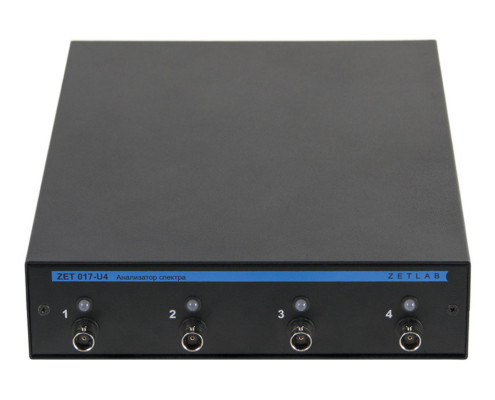 FFT spectrum analyzer ZET U Front view
