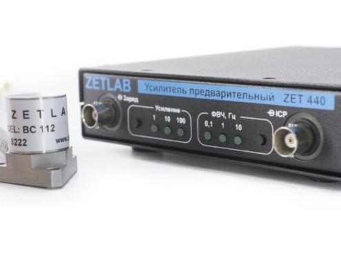 Усилитель заряда ZET 440 с вибродатчиком