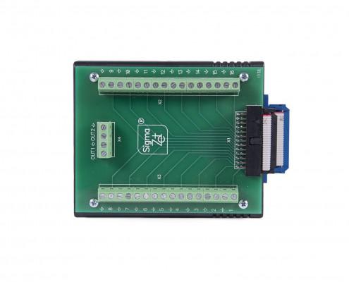 ZET ZET 210 ADC DAC module - top view