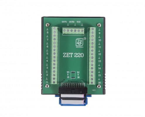 Модуль АЦП ЦАП ZET 220. Внешний вид
