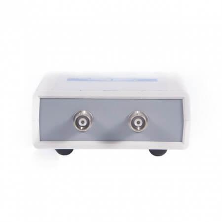 USB осциллограф ZET 302. Передняя панель