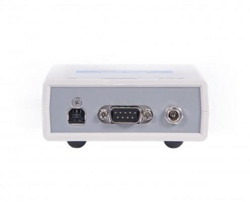 USB осциллограф ZET 302. Задняя панель