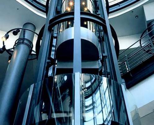 Определение положения лифта и параметров движения