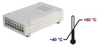 Расширенный температурный диапазон для тензостанций