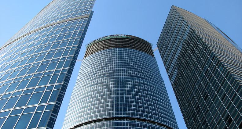 Опыт проектирования и эксплуатации схем мониторинга конструкций и оснований высотных зданий