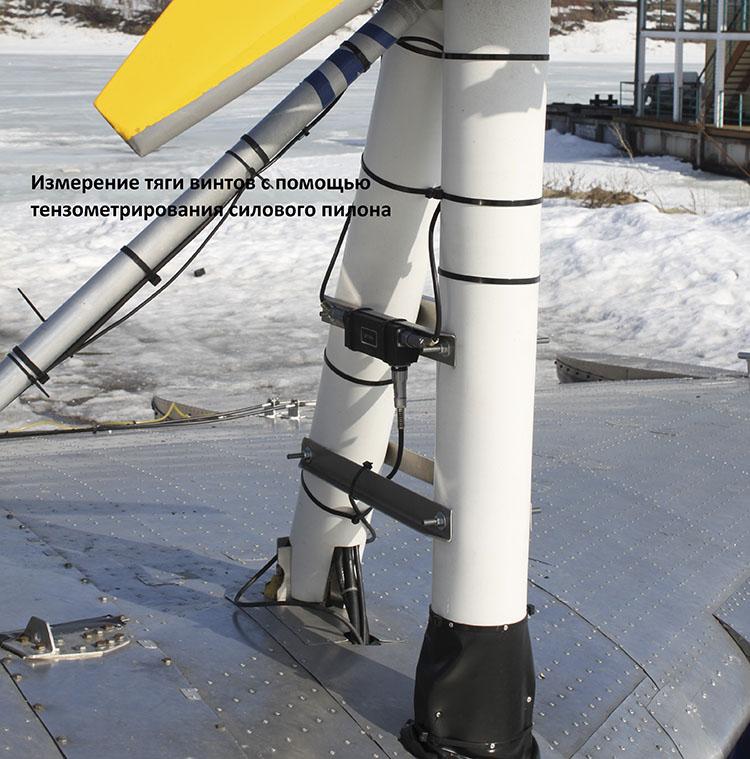 Измерение тяги винтов при помощи цифровых тензодатчиков ZET 7010