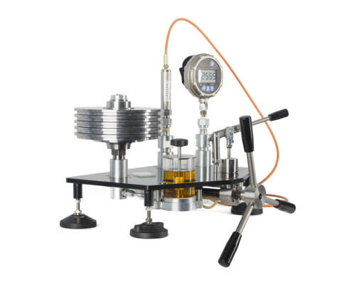 pressure measurement - test system