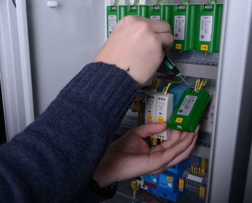 Mounting of sensors
