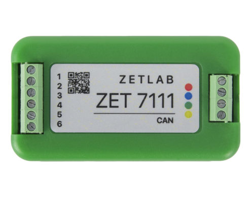 ZET 7111 Digital Strain Gauge - top view