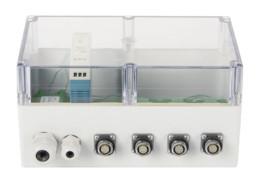 Промышленное исполнение ZET 7XXX в герметичном корпусе (с прозрачной крышкой)