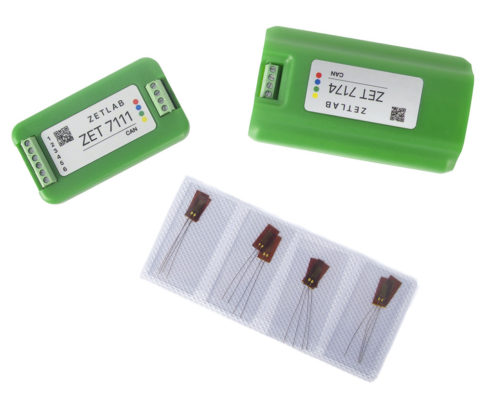 ZET 7110 Digital Strain Gauge Sensor - system components