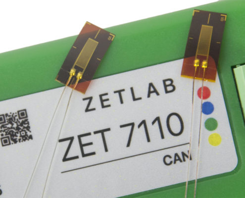 ZET 7110 Digital Strain Gauge Sensor - top view 1